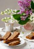 Dedos geados do café Vintage do estilo Imagem de Stock Royalty Free