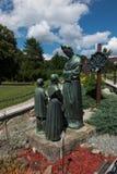 Dedowiec, Polen - Juli 20, 2016: Standbeeld van het Maagdelijke huilen van Mary Royalty-vrije Stock Fotografie