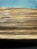 Deduct wood. Dry sliver woodenon white background stock photo
