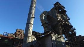 Dedusting stację Przy Starą Metalurgiczną rośliną zbiory wideo