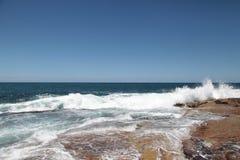 Dee почему пляж Австралия Стоковые Фотографии RF