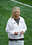 Dee Haslam Owner NFL koncession Cleveland Browns royaltyfri bild
