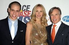 Dee Ocleppo,Richard Hilfiger,Tommy Hilfiger Royalty Free Stock Photo