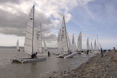 Dee Sailing Club royalty-vrije stock fotografie