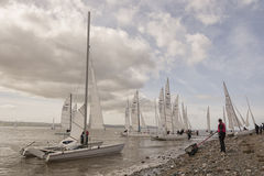 Dee Sailing Club fotografia stock