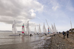 Dee Sailing Club stock foto