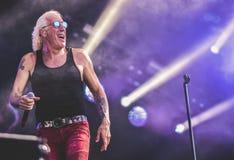 Dee Snider vivent de concert 2017 Image stock