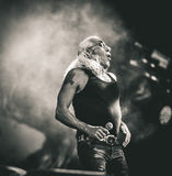 Dee Snider vivent de concert 2017 Photos libres de droits