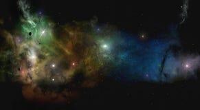 Dee Space Starfield Fotos de archivo libres de regalías