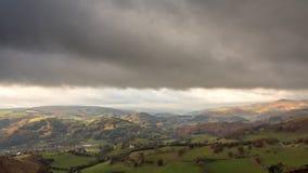 Dee Valley, País de Gales Imágenes de archivo libres de regalías