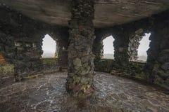 Dee Wright Observatory View de l'intérieur images stock