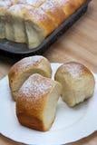 Deeg voor broodjes Stock Foto