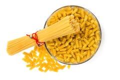 Deegwaren en macaroni Stock Fotografie