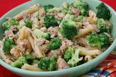 Deegwaren met broccoli Stock Afbeelding