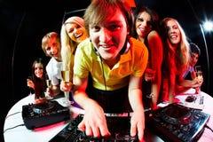 deejay φίλοι Στοκ Φωτογραφία