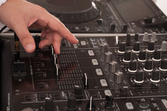 Deejay man Stock Images