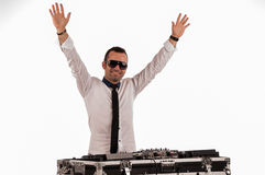 Deejay man Stock Photography