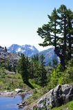 Deeks Peak stock photo