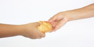 Deel het brood. Royalty-vrije Stock Afbeelding