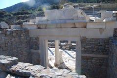 Deel op de plaats van Ephesus, Izmir, Turkije, Midden-Oosten Royalty-vrije Stock Foto's
