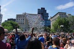 Deel 3 75 van de bellenslag NYC 2015 Stock Afbeelding