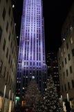 Deel 2 33 van 2015 Fifth Avenue -Vakantievensters Stock Afbeelding