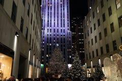 Deel 2 34 van 2015 Fifth Avenue -Vakantievensters Stock Foto's