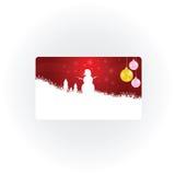 Deel van het sneeuwman het nieuwe 2013 jaar  stock illustratie