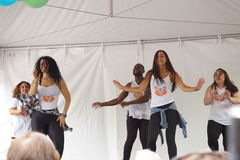 2015 Deel 2 25 van NYC DanceFest Royalty-vrije Stock Afbeelding