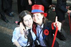 Deelnemers tijdens Traditionele Viering Royalty-vrije Stock Afbeeldingen