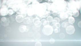 Deeltjes die in de lucht vliegen (lijn) stock footage
