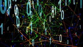 Deeltjesillustratie van Digitalisering vector illustratie