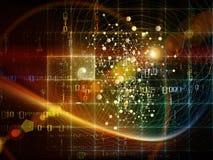 Deeltjestechnologieën Stock Foto's