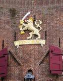 Deen Dragt Netherlands Coat of Arms Amsterdam Holland Netherlands Stock Photo
