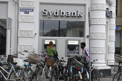 DEENS BANKWEZENsysteem Stock Foto