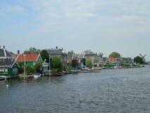 Deens dorp Royalty-vrije Stock Afbeelding