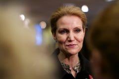 Deense Eerste minister Helle Thorning-Schmidt royalty-vrije stock foto