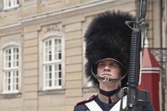 Deense gardesoldaat Stock Foto's