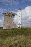 Deense het westenkust in Jutland Royalty-vrije Stock Afbeelding