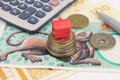 Deense Huisfinanciën stock foto