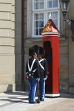 Deense Koninklijke Wachten Stock Foto's