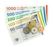 Deense kronen (DKK), Royalty-vrije Stock Fotografie