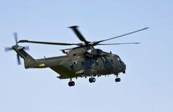 Deense Luchtmachthelikopter Stock Afbeeldingen
