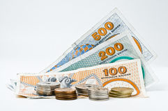 Deense munt Stock Foto