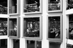 Deense Nationale Bibliotheek Royalty-vrije Stock Afbeeldingen