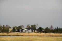 Deense summerhouses Stock Afbeelding
