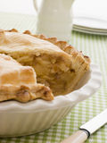 Deep Apple Pie In A Dish Royalty Free Stock Photo