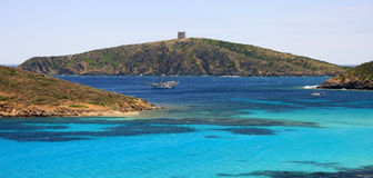 Deep blu - Sardinia Royalty Free Stock Photos