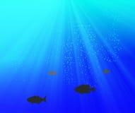 Deep blue Royalty Free Stock Image