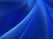 Deep Blue Abstract Background stock image